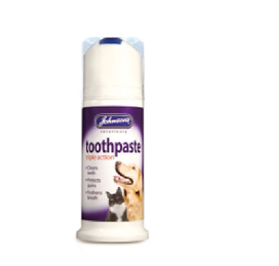 Johnson's triple action Toothpaste for dogs and cats 50G