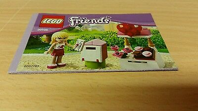 41020 Lego Friends Build instructions  ONLY