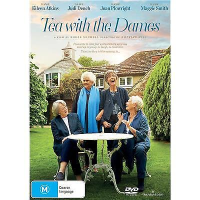 Tea With The Dames Dvd, New & Sealed, 2018 Release, Region 4, Free Post