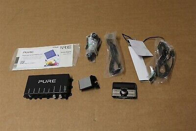 NEW VW APPROVED PURE HIGHWAY 400Di DAB DIGITAL RADIO AUDIO MEDIA ADAPTER KIT