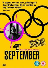 One Day In September (DVD) (C-15) NEW & SEALED 1st Class Post!