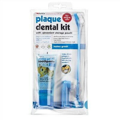 Petkin Plaque Dental Kit for dogs