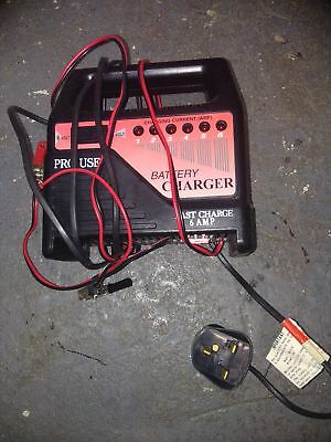 pro user battery charger. Fast charge 6 amp. Excellent condition