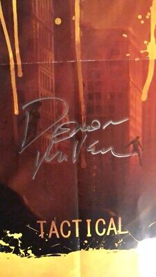 World Under Blood AUTOGRAPHED poster