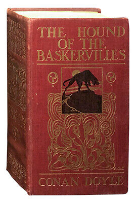 Arthur Conan Doyle / The Hound of the Baskervilles First Edition 1902