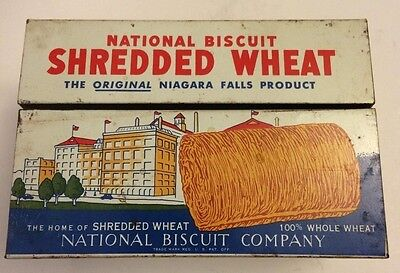 National Biscuit Company Shredded Wheat Recipes Tin