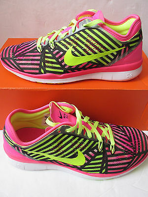 buy popular fbfe6 1eeb3 Nike Femmes Free 5.0 Tr Compatible avec 5 Prt Basket Course 704695 600  Baskets