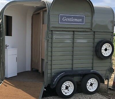 Converted Rice Horse Box Mobile Toilets