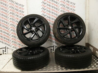 Vauxhall Corsa E Limi Edition Adam 12-On Set Of Alloy Wheels+Tyres 17 Inch Aalb