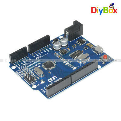 Version UNO R3 ATMEGA328P-16AU CH340G Micro USB Board DIY