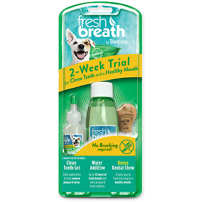 TropiClean Fresh Breath 2-Week Dental   Free Shipping