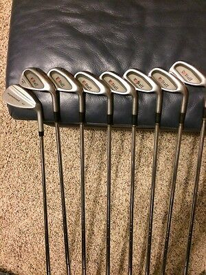 Men right hand steel shaft Wilson Staff Ultra 45 iron set 3-9 & 50* Wedge!