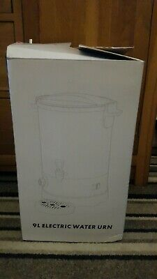 Brand New Silver 9L Electric Water Urn