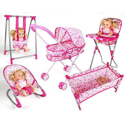 KESOTO 45*23*22cm Baby Doll Bouncer Chair Model Simulation Furniture Model for