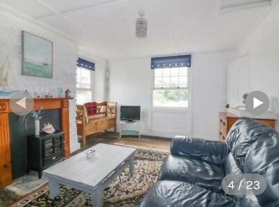 Easter half term Holiday Cottage (mevagissey) df 6th April 7 nights
