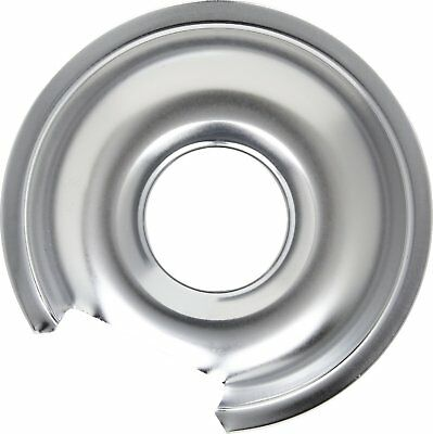 "WB32X10012 - Chrome 6"" Drip Pan For General Electric Range"