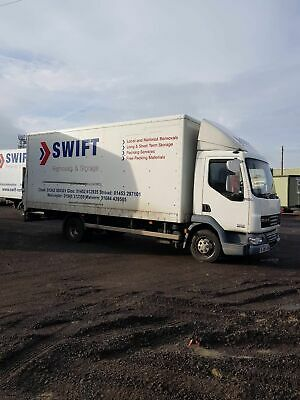 Daf Lf 2008 7.5t lorry with Tailift