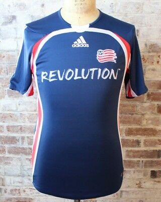 New England Revolution ADIDAS CLIMACOOL MLS Soccer Jersey Shirt Men s S  Small a19ce1429