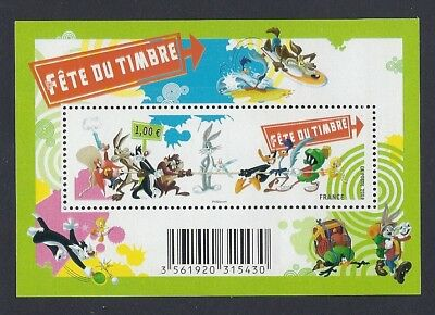 FRANCE 2009 Bloc n° F4341 FÊTE du TIMBRE LOONEY TUNES - NEUF**LUXE