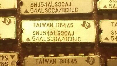 54ALS00A Texas Instruments Quad 2-Input Positive NAND Gate ceramic DIP