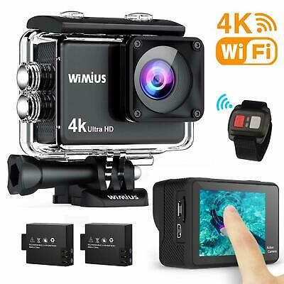 WiMiUS AI8000 Action Cam 4K WIFI HD 16MP Touch Screen Impermeabile Fotocamera 30