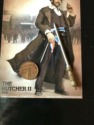 REDMAN TOYS Gangs of New York Bill the Butcher Shoes /& Pegs loose 1//6th scale