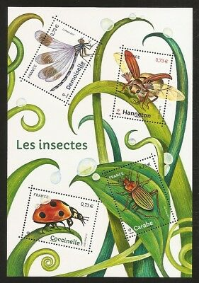 FRANCE 2017 Bloc F 5148 LES INSECTES  NEUF**LUXE
