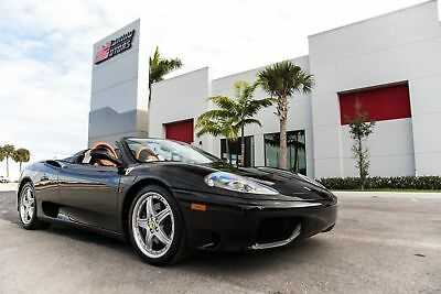 2005 Ferrari 360 -- 2005 360 SPIDER - F1 TRANSMISSION - $190,500 MSRP NEW - HIFI SOUND SYSTEM