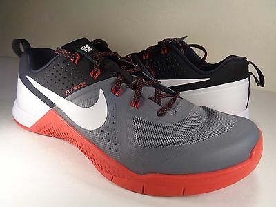 fb8916410eb6 NIKE METCON 1 Cool Grey White Black Red SZ 13 (704688-016) -  49.99 ...