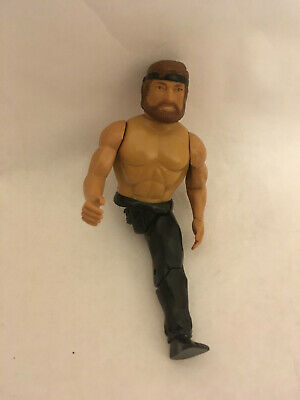 Super Rare Limited One-Legged CHUCK NORRIS! Lanard Toys, Remco style 1985 - 1 of
