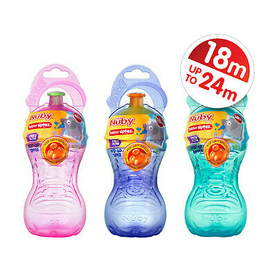 Nuby Free Flow Pop Up Sipper Cup x 1