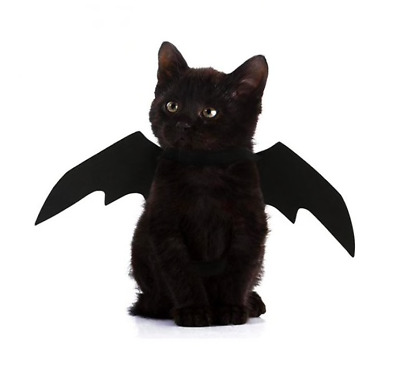 Halloween Goth Black Bat Wings for Cat Dog Pet - FREE SHIPPING