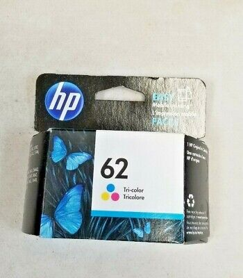 HP 62 Ink Cartridges  - Tri- color! New!