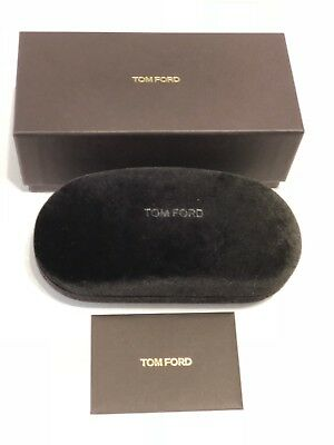 New Tom Ford Eyeglasses Sunglasses Large Hard  Case,Outer box + Cleaning Cloth