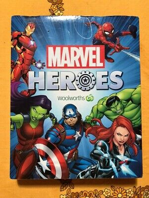 Whole Set Of As New 42! Woolworths Marvel Comics Heroes Discs In Original Folder