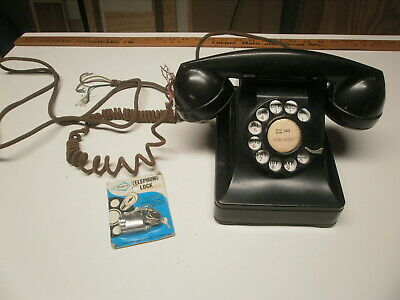 Western Electric 302 And Dial Lock