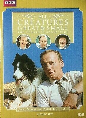 All Creatures Great & Small Complete Collection (DVD, 28-Disc Set) Ships Fast