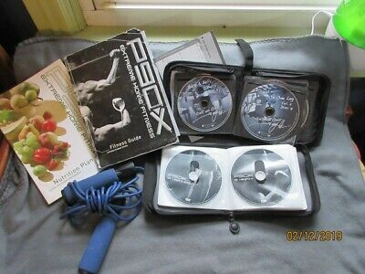P90X Extreme Home Fitness - Complete Set + 27 One on One Disks + Extras
