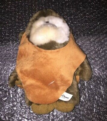 "Ewok Plush Wicket Warrick Star Wars 8"" Stuffed Toy Doll Disney Parks"