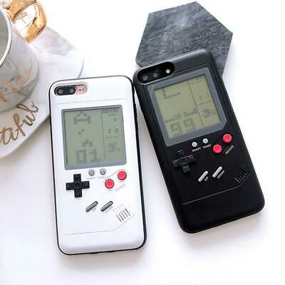 Gameboy Tetris Game Console Phone Case for iPhone X 6 7 8 Plus XS MAX