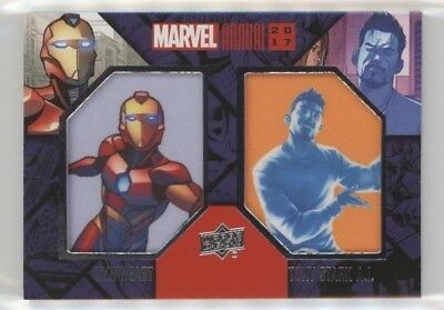 2017 UD Marvel Annual Dual Character SP Patch DCP-23 IRONHEART IRON MAN Stark