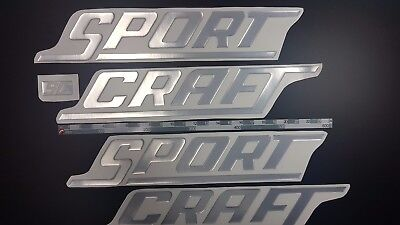 """SportCraft  Boats Emblem 43"""" + FREE FAST delivery DHL express"""