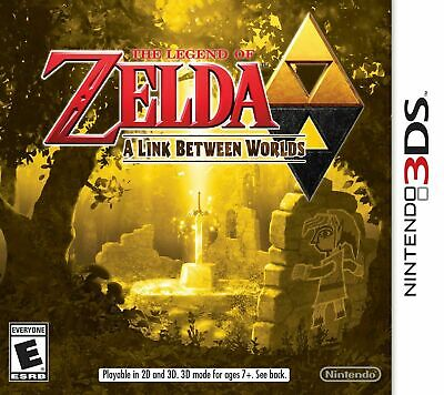 The Legend of Zelda: A Link Between Worlds - Nintendo 3DS Game Only