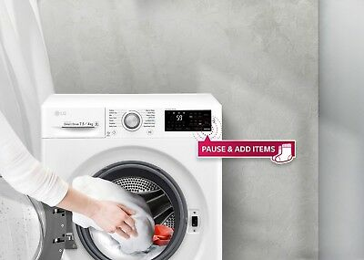 LG  7.5Kg/4Kg Front Load Washer and Dryer_WDC1475NCW