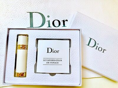 Dior J'adore Travel Spray VAPORISATEUR DE VOYAGE Perfume Container Refillable