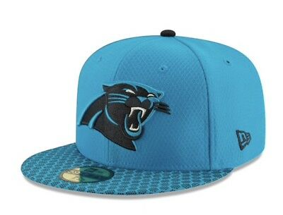 2d7a4b4d0b4 CAROLINA PANTHERS NEW Era NFL 2016 Sideline Official 59FIFTY Fitted ...