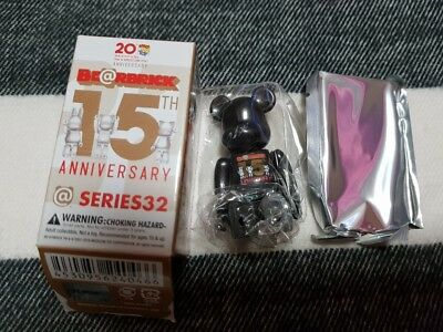 4dac1968 BEARBRICK Series 32 15th Anniversary Secret 1/192 Be@rbrick 100% Medicom Toy