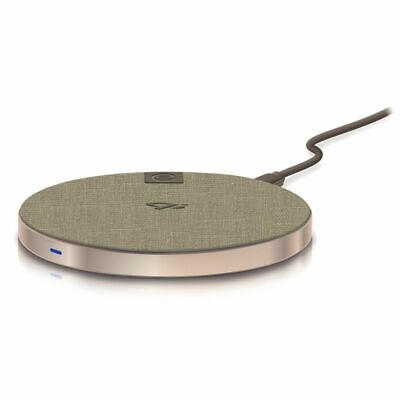 Alogic Wireless Charging Pad with Qi technology Fast Charging Champagne Gold