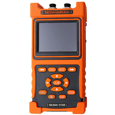 Hand-held Optical Time Domain Reflectometer NK2000 OTDR LCD Touch Screen 50/60Hz