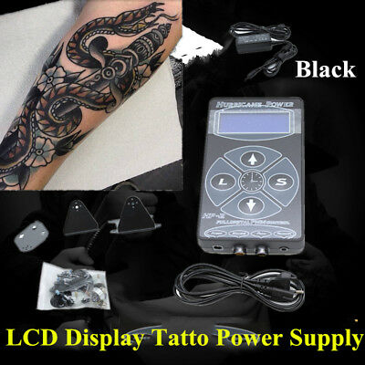 Hurricane LCD Digital Tattoo Machine tatuaggio Alimentazione Power Supply DHL